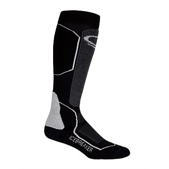 Men's Ski+ Medium Over-The-Calf Socks