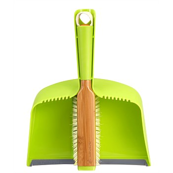 Clean Team Brush & Dustpan Set