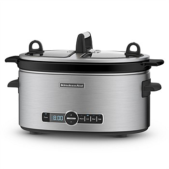 Artisan Slow Cooker with Easy Serve Lid