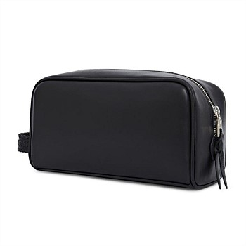 City Smooth Leather Wash Bag