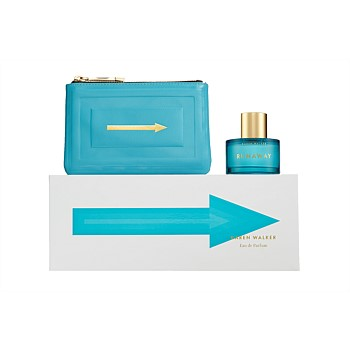 Fragrance Gift Set - Runaway Azure 60ml with Leather Purse