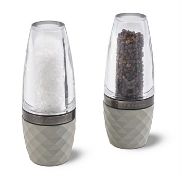 Cole & Mason City Concrete Salt & Pepper Mills