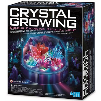 Science Crystal Growing Colour Changing Crystal Light