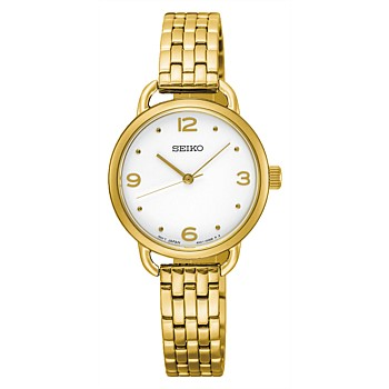 Ladies Conceptual Gold Dress Watch