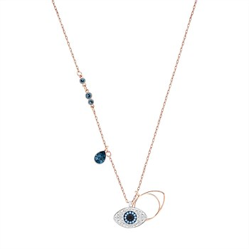 Duo Evil Eye Pendant
