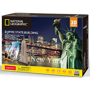 3D City Traveller New York Puzzle