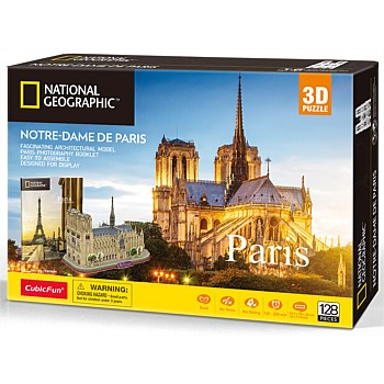 3D City Traveller Paris Puzzle