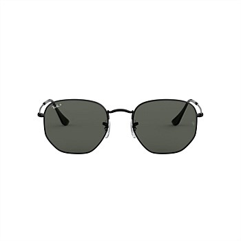 Hexagonal - Polar Green Classic Sunglasses