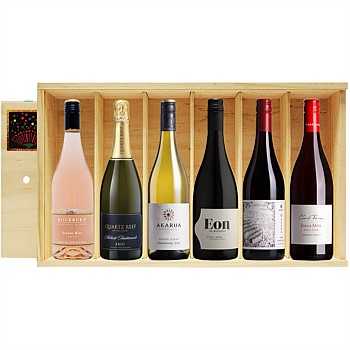 6 bottle box of Central Otago Wines