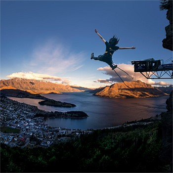Ledge Swing Queenstown