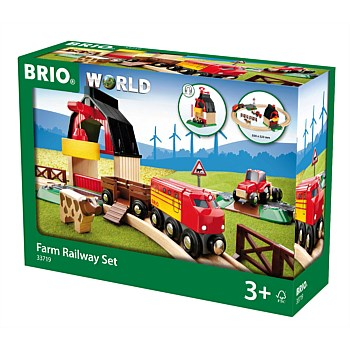 Farm Railway Set, 20 Pieces