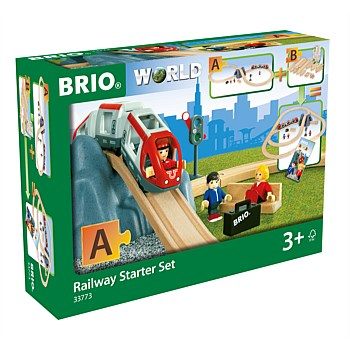 "Railway Starter Set ""A"" 26 Pieces"
