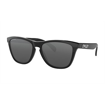 Frogskins Polished Black Prizm Black Sunglasses