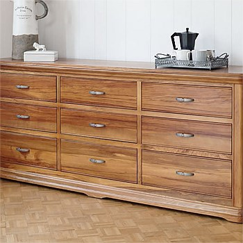 Opera 9 Drawer Lowboy by Sorensen Furniture