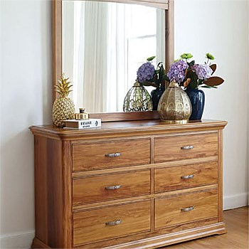 Opera Dresser with Mirror by Sorensen Furniture